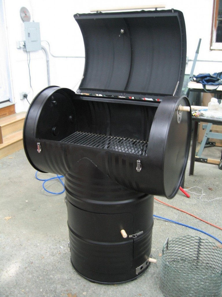 5. How To Build A Drum Smoker - The Owner Builder Network