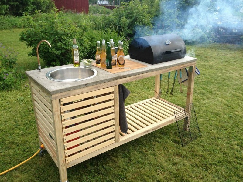 Diy Portable Barbecue The Owner Builder Network