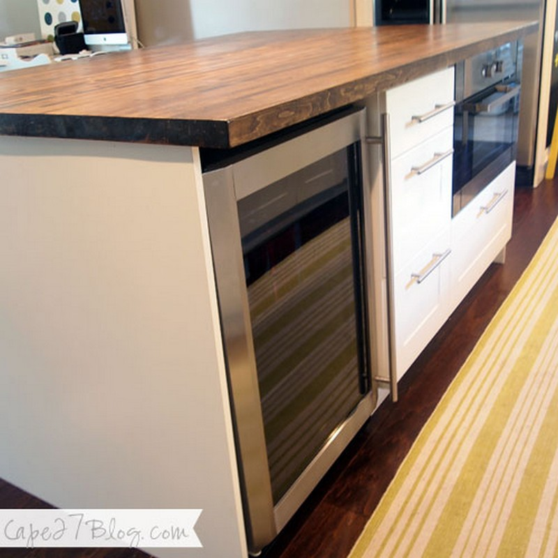 1. Kitchen Island Tutorial - Cape 27