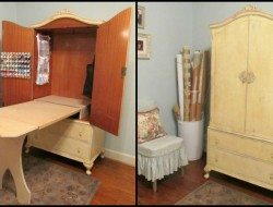 Armoire Sewing Cabinet - Cottage Hill