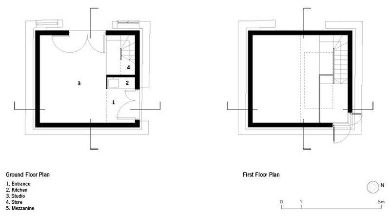 Dovecote floorplan