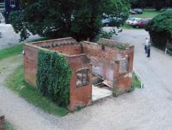 The dovecote ruin