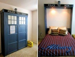 Dr. Who Murphy Bed