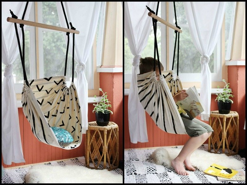 Fun diy swing projects the owner builder network for How to build a swing chair