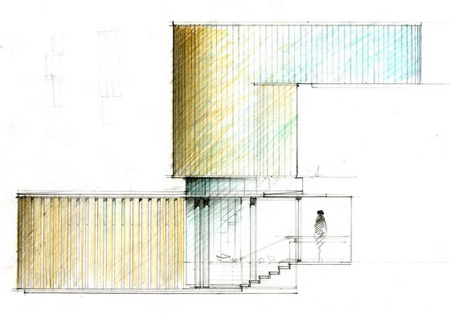 The Integral House   Elevation Detail