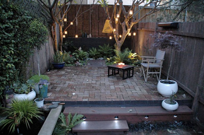 Creative courtyards the owner builder network for Courtyard landscaping australia