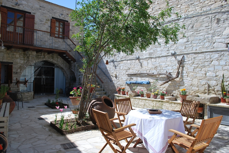 Courtyard in Vavla Retreat by Nicolas and Styliani Pitta - Vavla, Cyprus