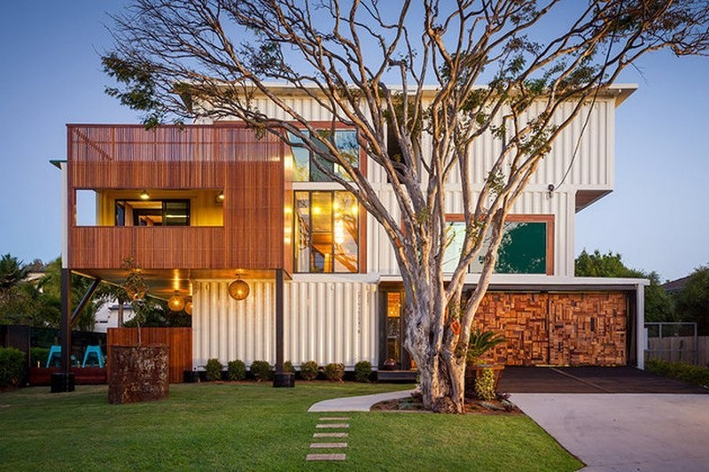 31 container home in Brisbane Australia - Exterior