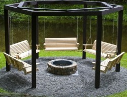 Swings Around a Fire Pit - The Owner-Builder Network