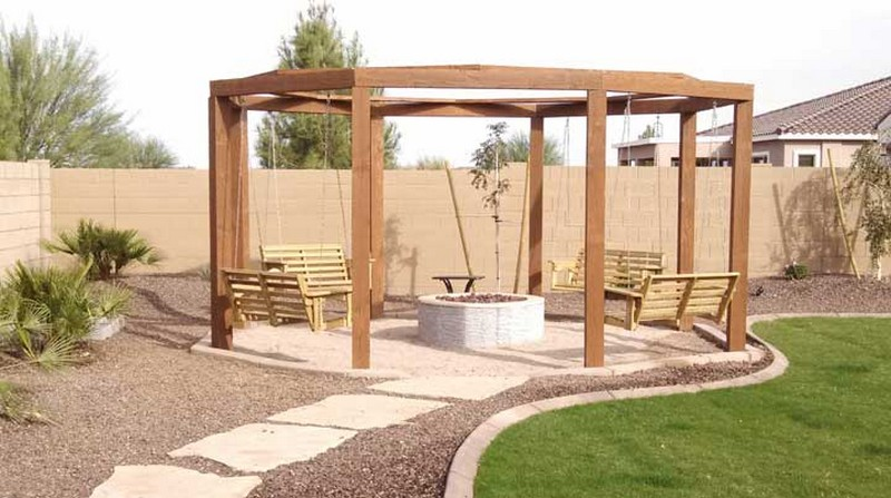 Fire Pit Swing Sets The Owner Builder Network