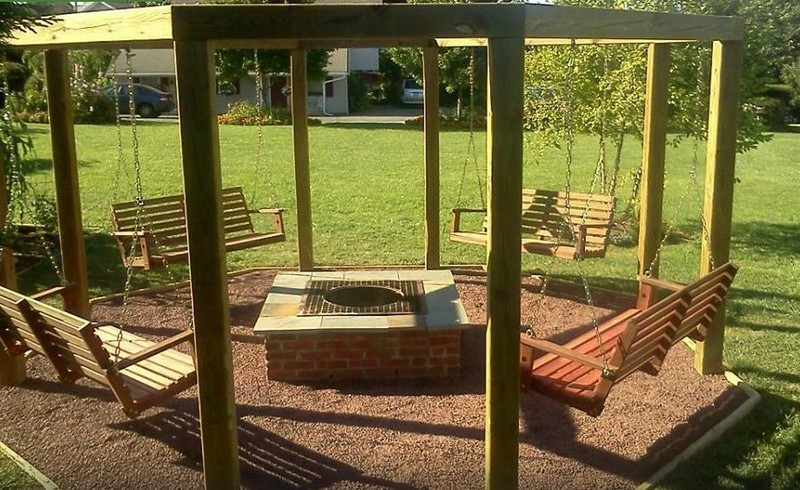 Fire Pit Swing Sets | The Owner-Builder Network