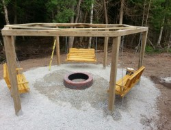 Firepit/Swing Combo - Barb Curry