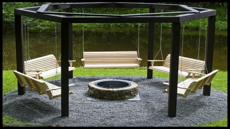 Fire Pit Swing Sets