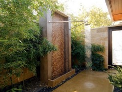 Outdoor Shower - Beautiful Homes & Designs