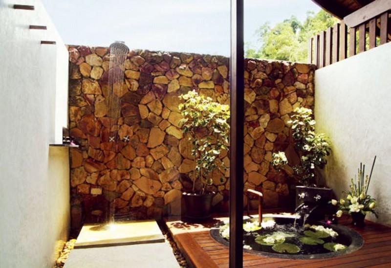 Outdoor Shower - Tubkaak Resort
