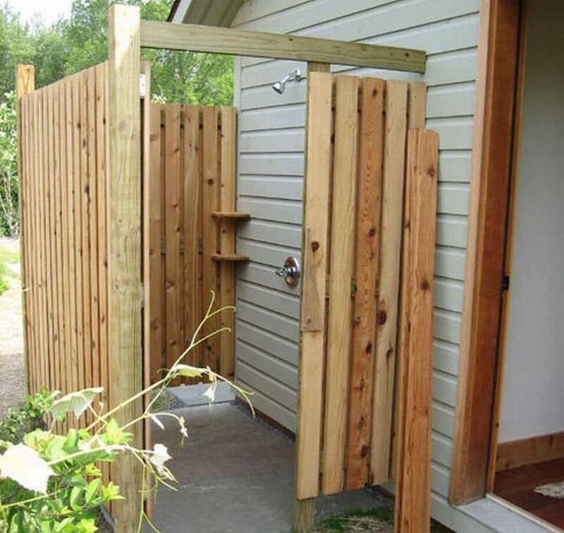 Outdoor Showers Ideas Part - 42: Outdoor Shower - The Tiny Life
