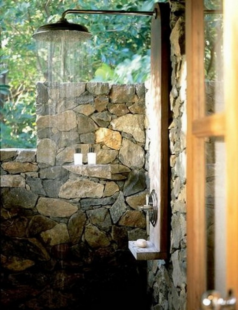 Outdoor Shower - bobvila