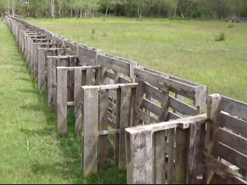 Fence Made from Pallets - Permies.com