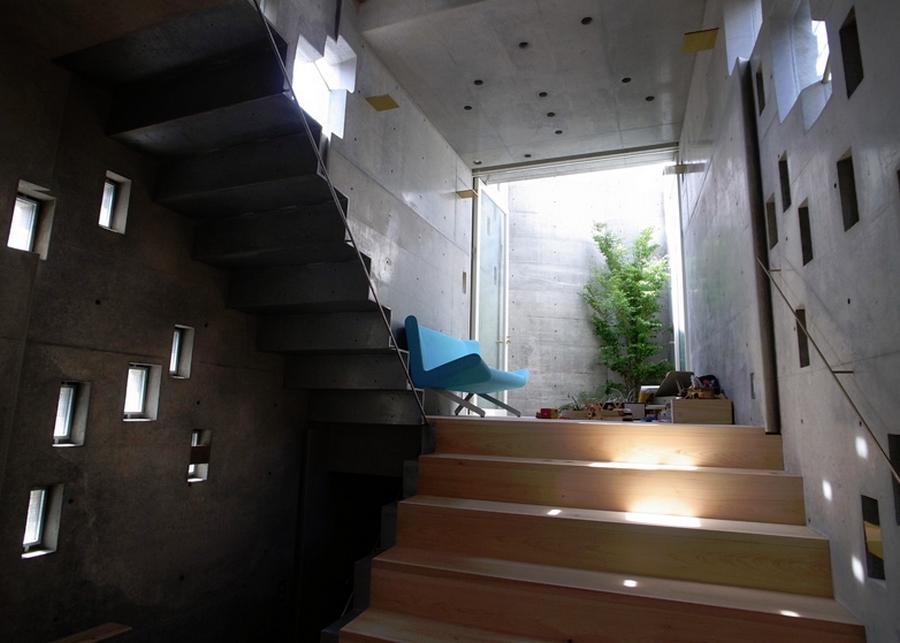 Tiny Tokyo home - Shibuya coutyard
