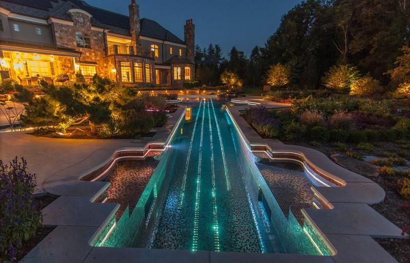 Modern Ground Swimming Pool Design - Digresser