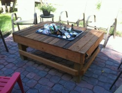 Cooler Patio Table - Ron Rohr