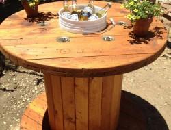 Wooden Spoon Table - Tami Lundberg