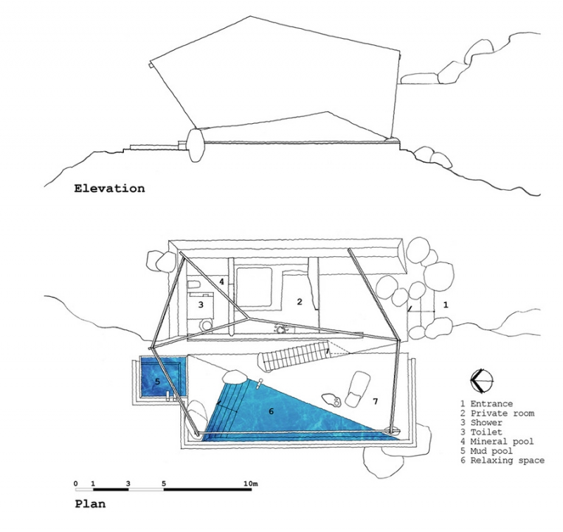 Two tents with a twist - a21 Studio Tent 1-floorplan
