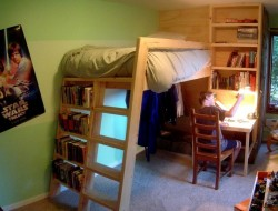 DIY Loft Bed - The Owner-Builder Network