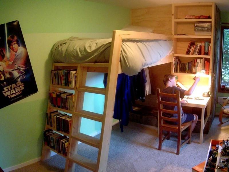 DIY Loft Bed - The Owner-Builder Network