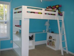How to Build a Loft Bed - Ana White