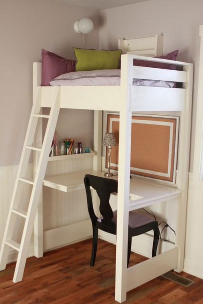 Kid-Sized Reading Loft and Desk - Hillary Louise