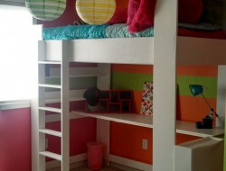 My Daughters Loft Bed and Room - HADDIXML