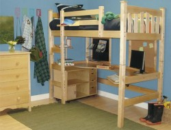 DIY Project: How to Make a Loft Bed for Your Dorm Room - Home Jelly