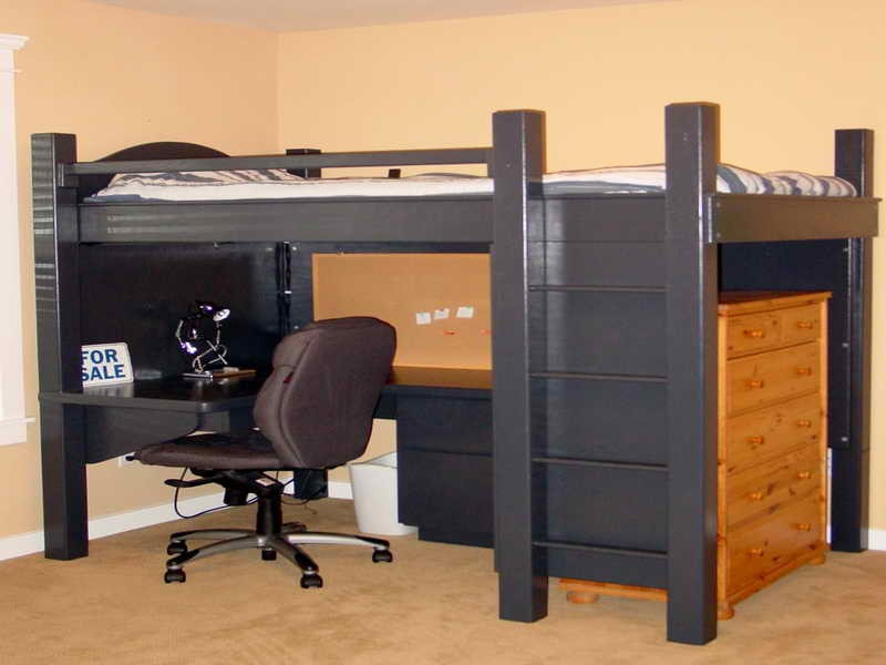 Loft Beds With Desks – The Owner-Builder Network
