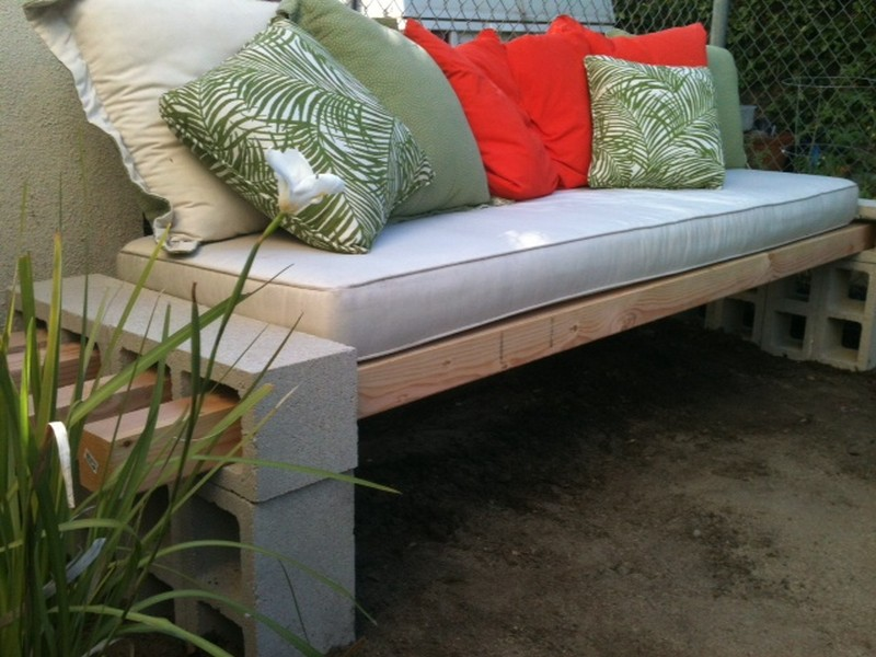 DIY Outdoor Bench - In Less than an Hour - The Basement
