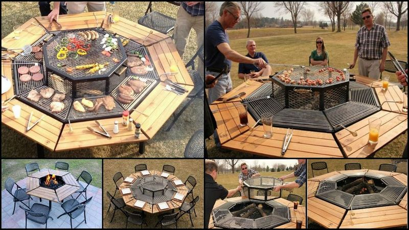Jag Grill The OwnerBuilder Network - Grill table fire pit all in one