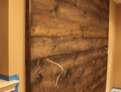 DIY Wood Wall Accent - The Owner-Builder Network