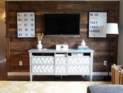 $20 DIY Pallet Wall - Cape twenty seven