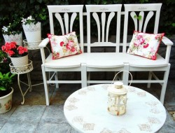 How To Make a Bench from Old Chairs - The Owner-Builder Network