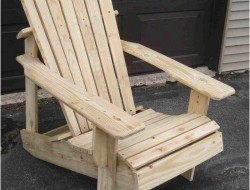 DIY Pallet Adirondack Chair - The Owner-Builder Network