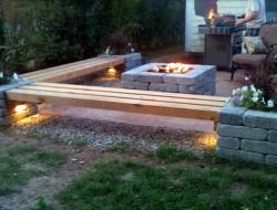 DIY Patio Bench - WDeck.Com
