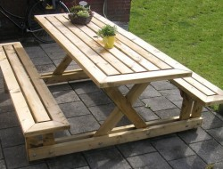DIY Picnic Table - The Owner-Builder Network