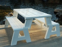 DIY Convertible Picnic Table Bench - The Owner-Builder Network