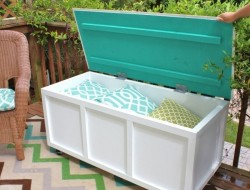 DIY Outdoor Bench with Storage - The Owner-Builder Network