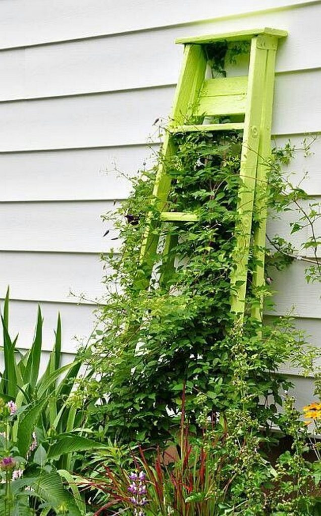 Trellis From Recycled Materials The Owner Builder Network