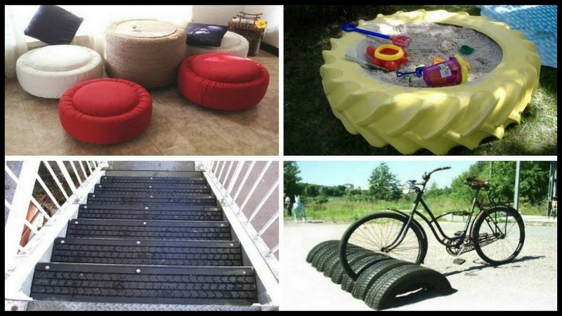 Repurposed Tire Projects