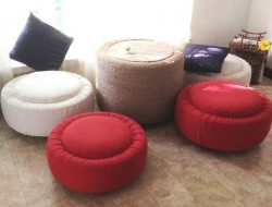 DIY Tire Table and Ottoman - The Owner-Builder Network