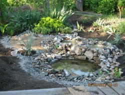 DIY Recycled Tires Pond - The Owner-Builder Network