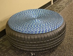 DIY Repurposed Tire Coffee Table - The Owner-Builder Network