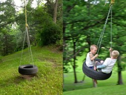 DIY Tire Swing - The Owner-Builder Network